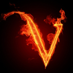 burning v