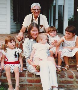 Grandma & Grandad w Grandaughters